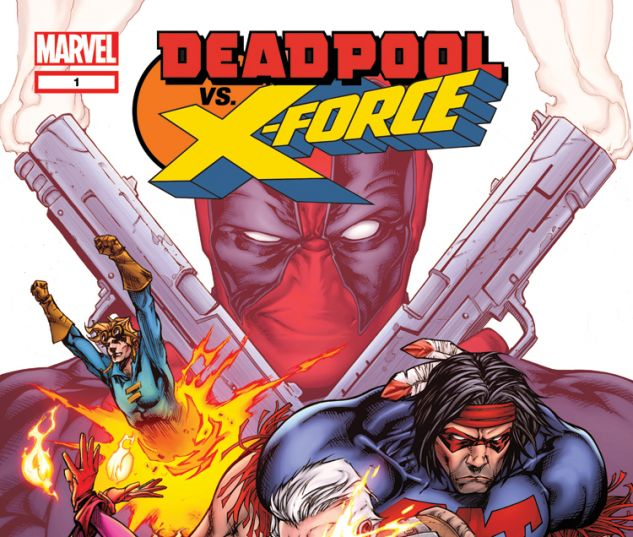 DEADPOOL VS. X-FORCE 1 (WITH DIGITAL CODE)