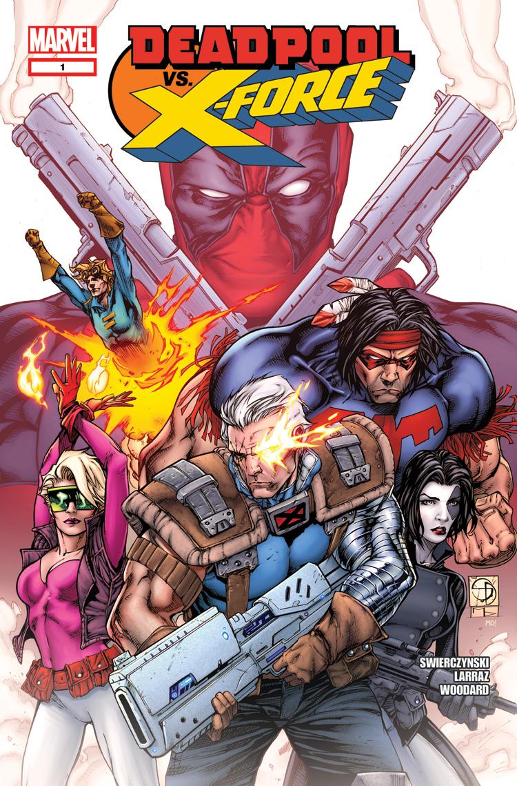 Deadpool Vs. X-Force (2014) #1
