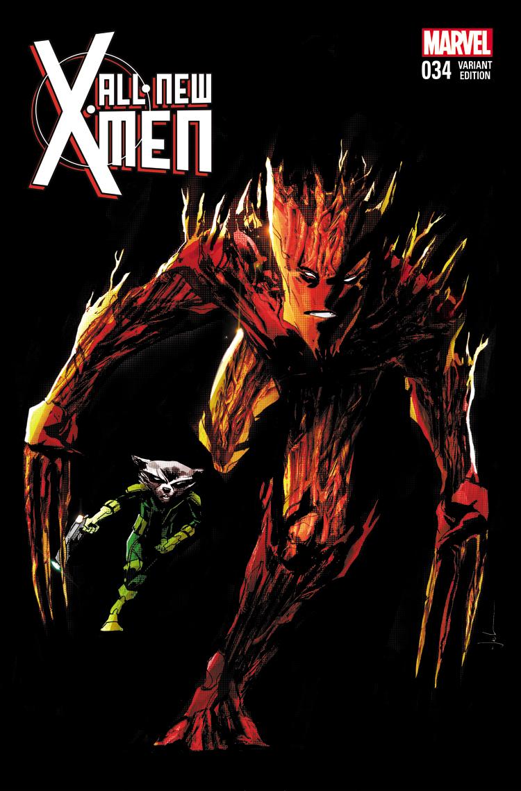 All-New X-Men (2012) #34 (Jock Rr&G Variant)