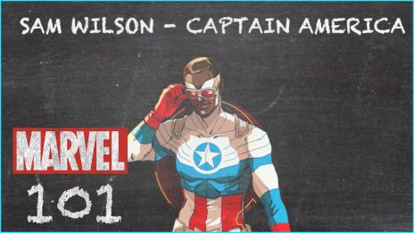Captain America Sam Wilson - MARVEL 101