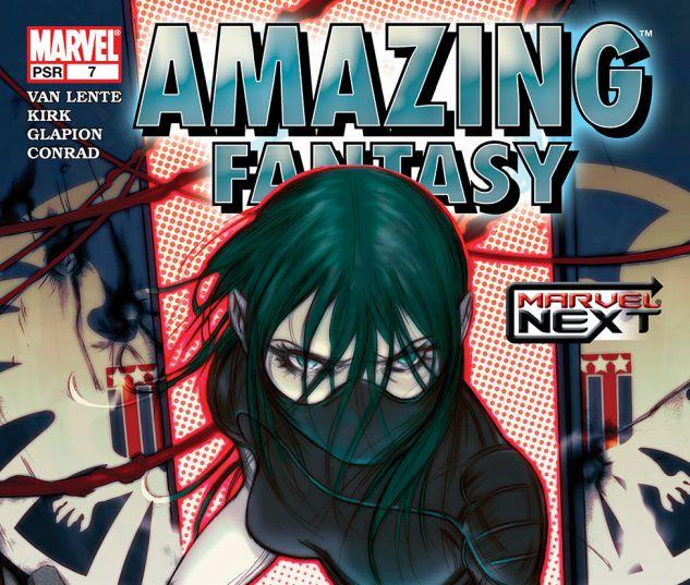 AMAZING FANTASY (2004) #7 Cover