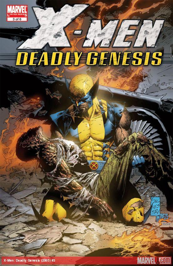 X-Men: Deadly Genesis (2005) #3