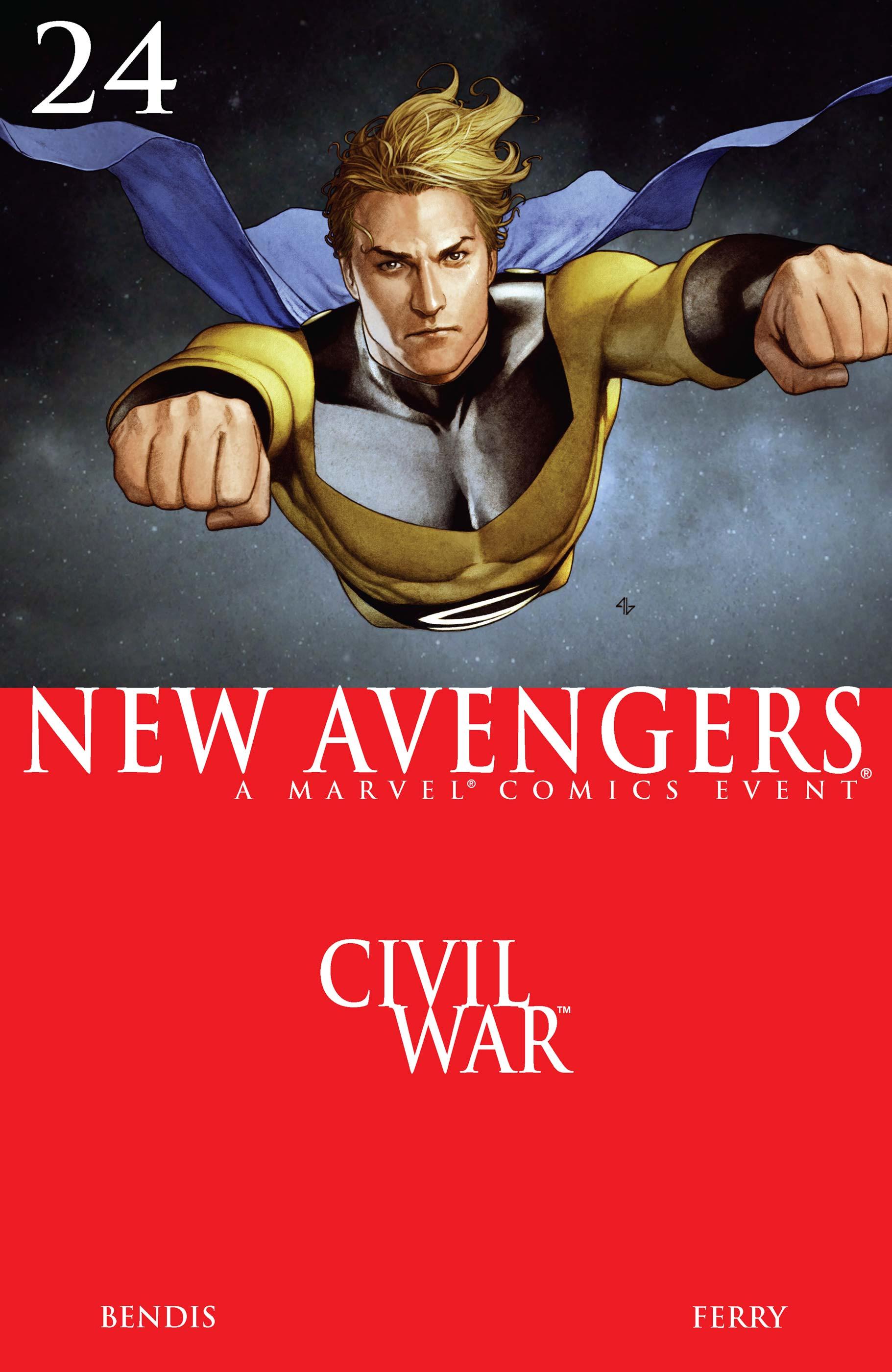 New Avengers (2004) #24