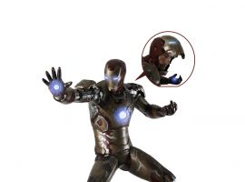Life-Size 'Iron Man' 3 statue by Section 9