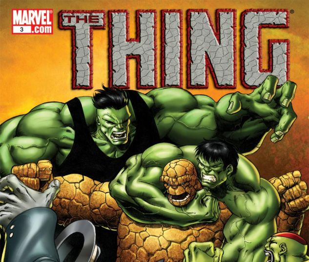 cover to Thing (2005) #3