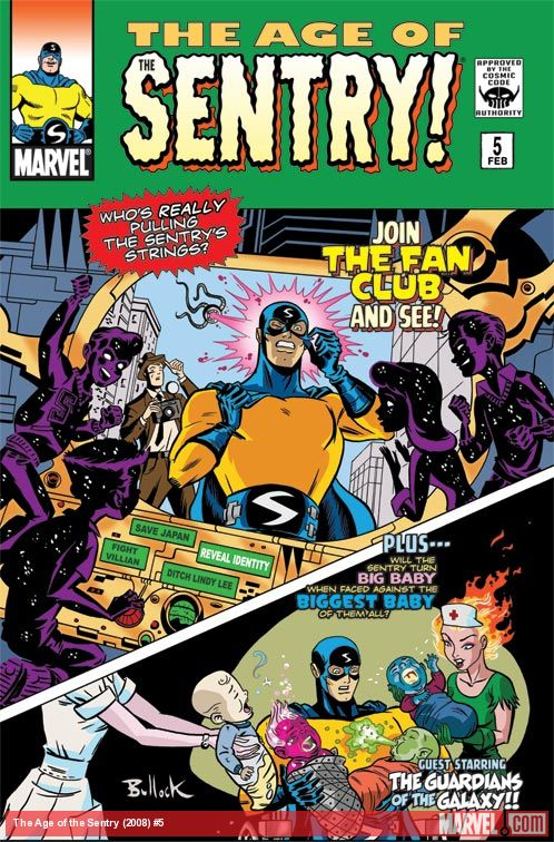 The Age of the Sentry (2008) #5