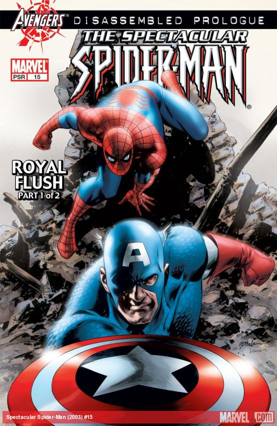 Spectacular Spider-Man (2003) #15