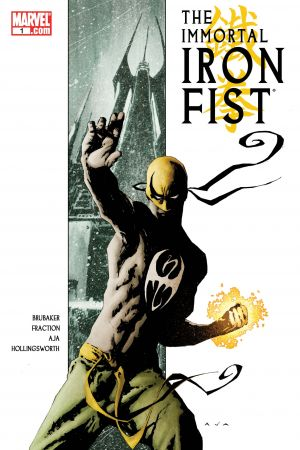 The Immortal Iron Fist  #1