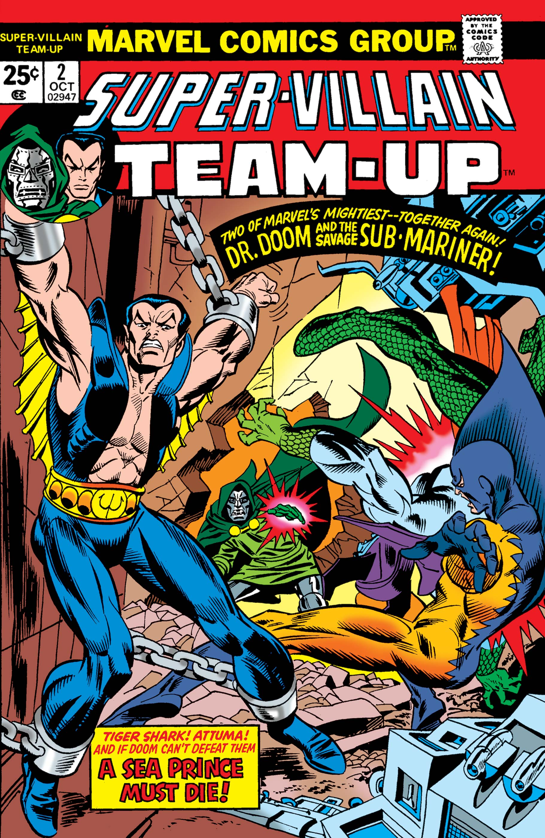 Super-Villain Team-Up (1975) #2