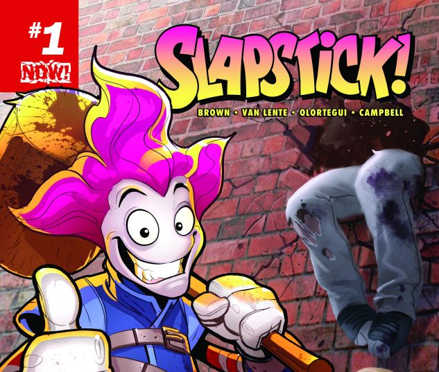 cover from Slapstick (2016) #1