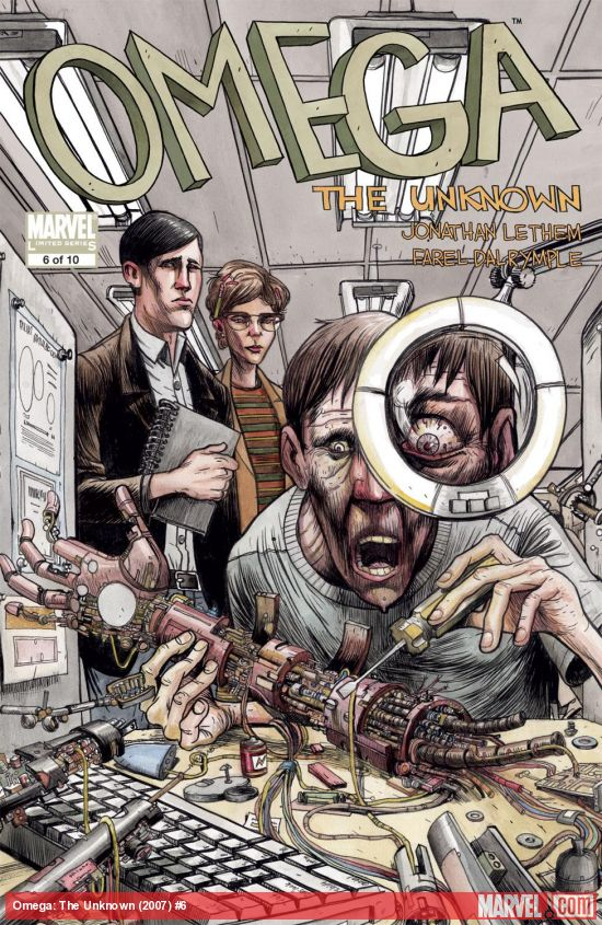 Omega: The Unknown (2007) #6