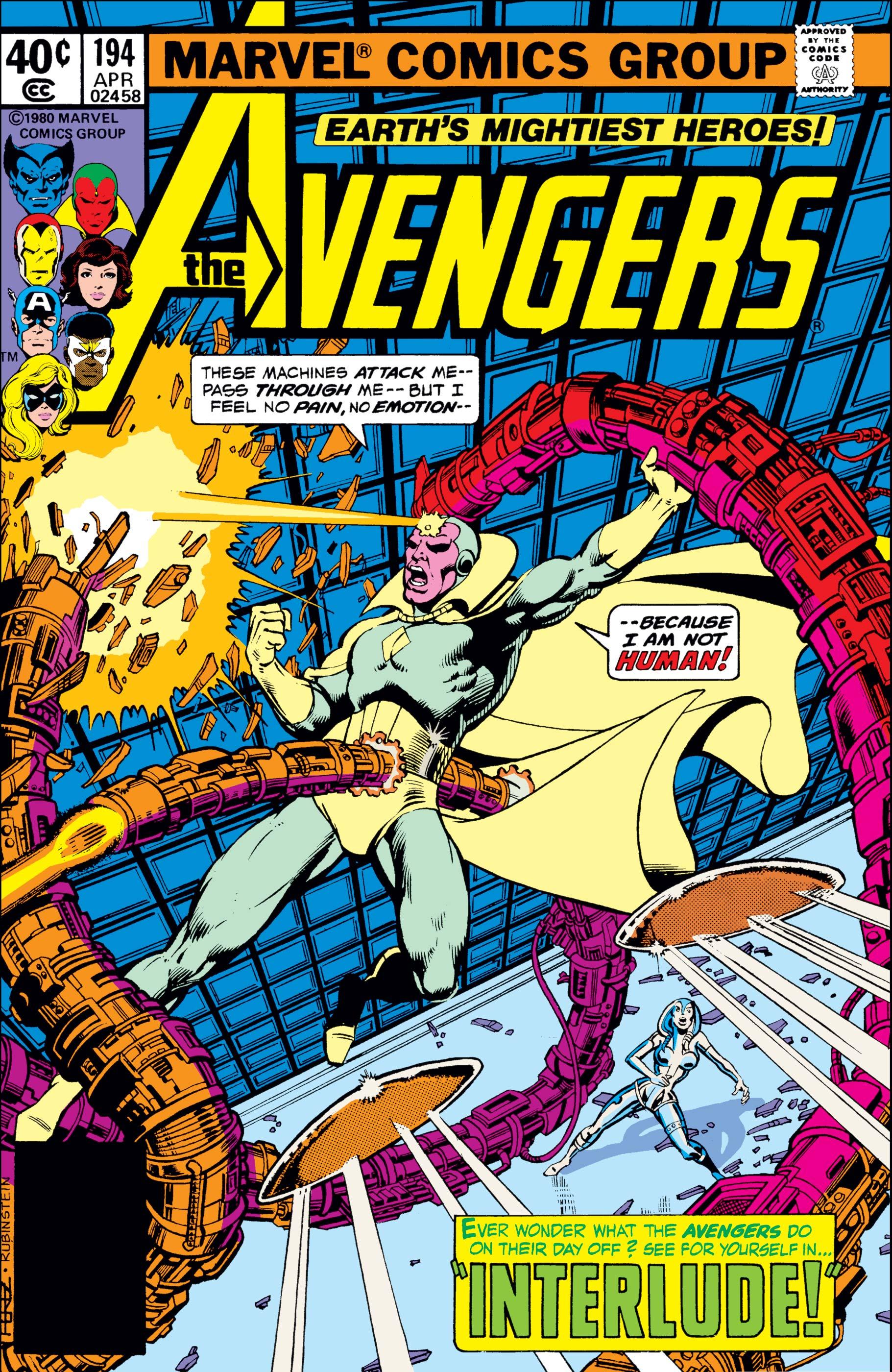 Avengers (1963) #194