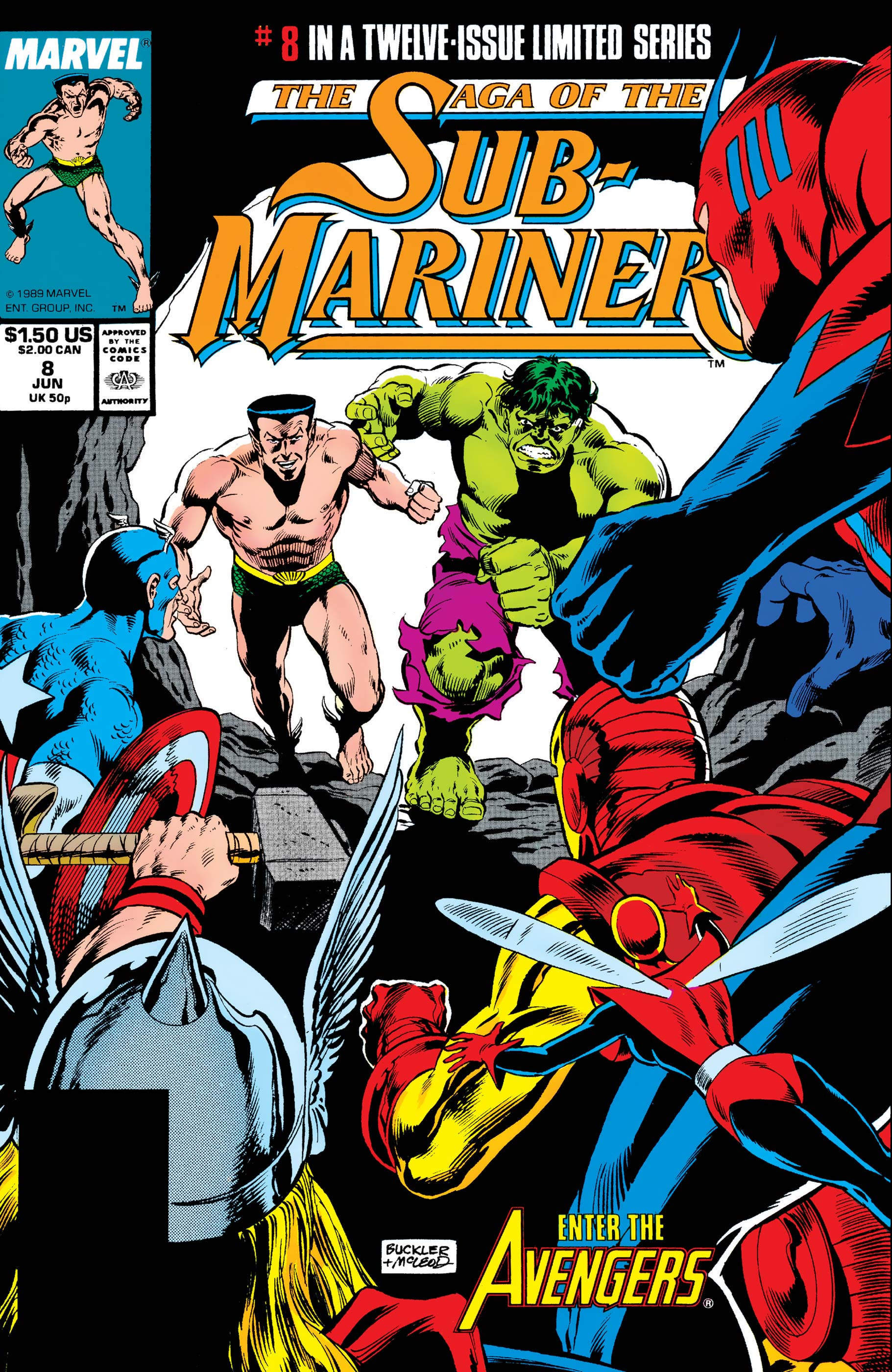 Saga of the Sub-Mariner (1988) #8
