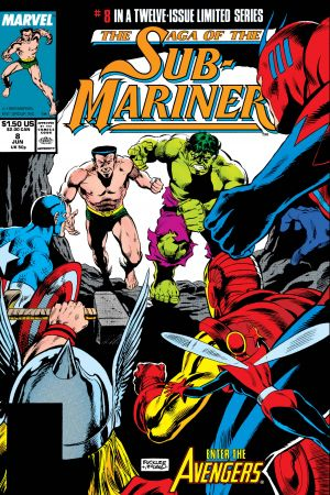 Saga of the Sub-Mariner #8
