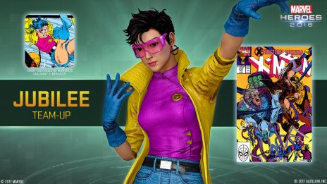 Beast and Jubilee Join Marvel Heroes 2016