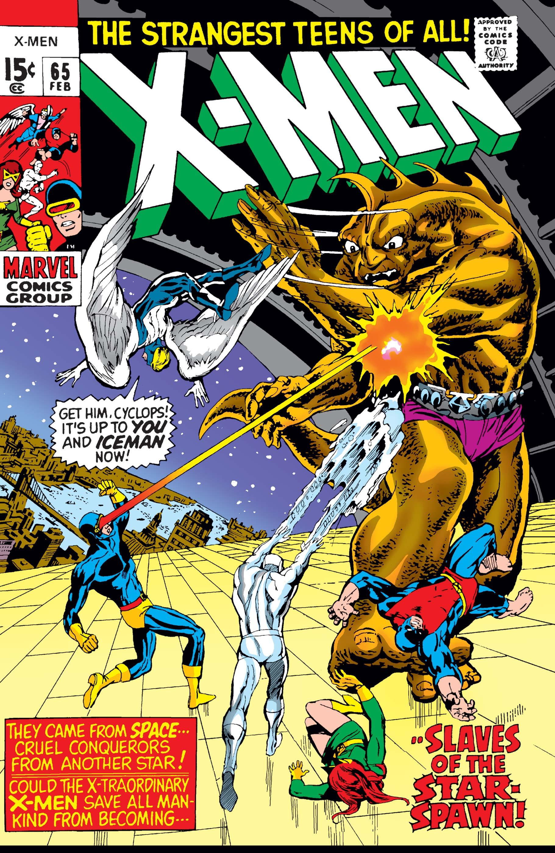 Uncanny X-Men (1963) #65