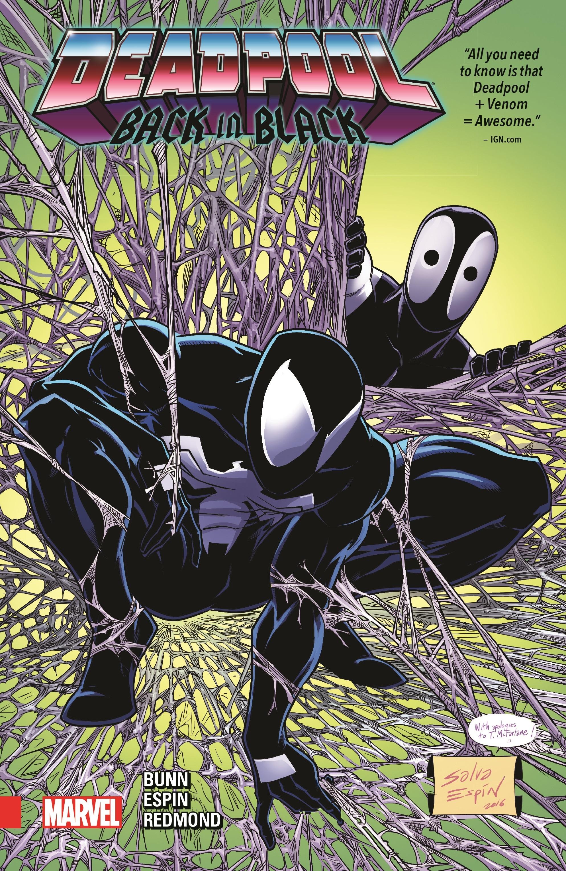 Deadpool: Back in Black (Trade Paperback)