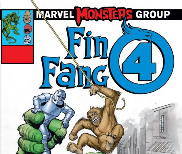 1 of 1 - Fin Fang Four