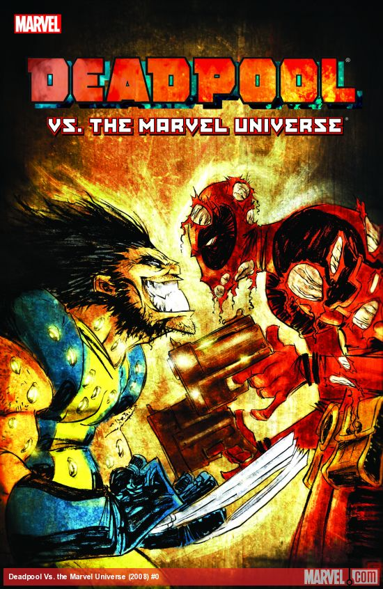 Deadpool Vs. the Marvel Universe (Trade Paperback)