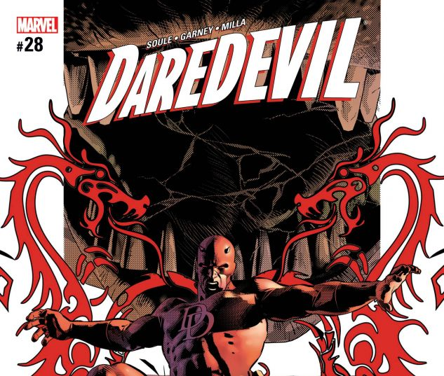 Cover for DAREDEVIL 28