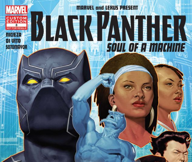 cover from Custom Promo Lexus 2017 Black Panther GN Print Ready File (2017) #8