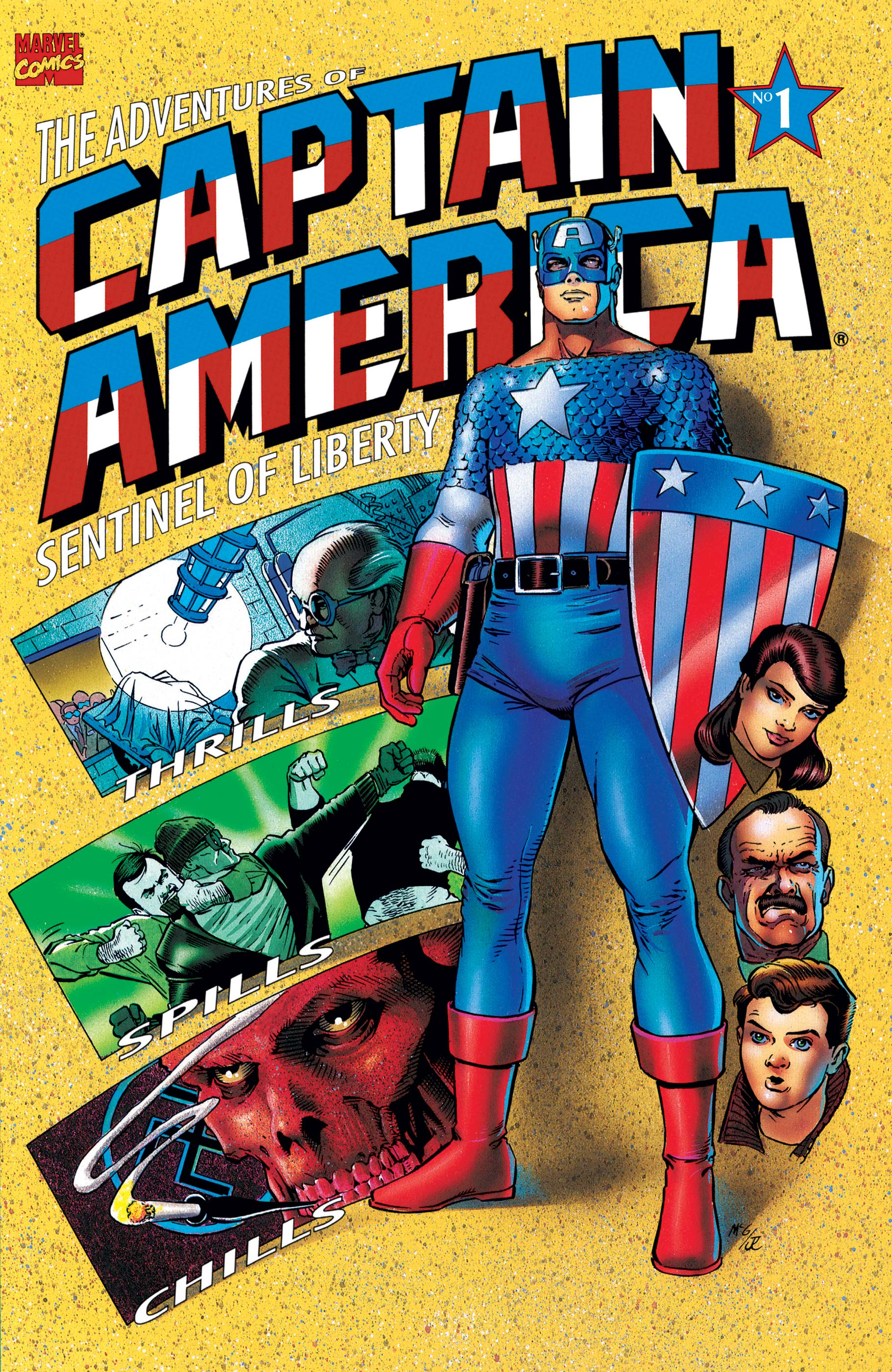Adventures of Captain America (1991) #1