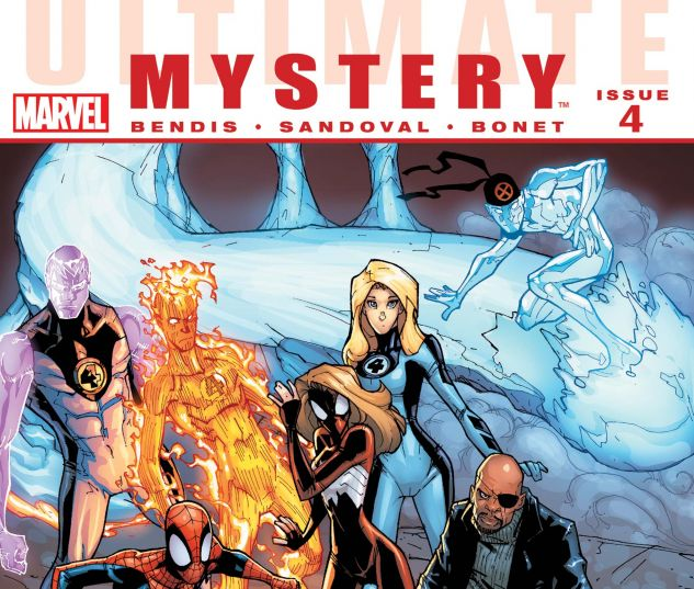 ULTIMATE COMICS MYSTERY (2010) #4