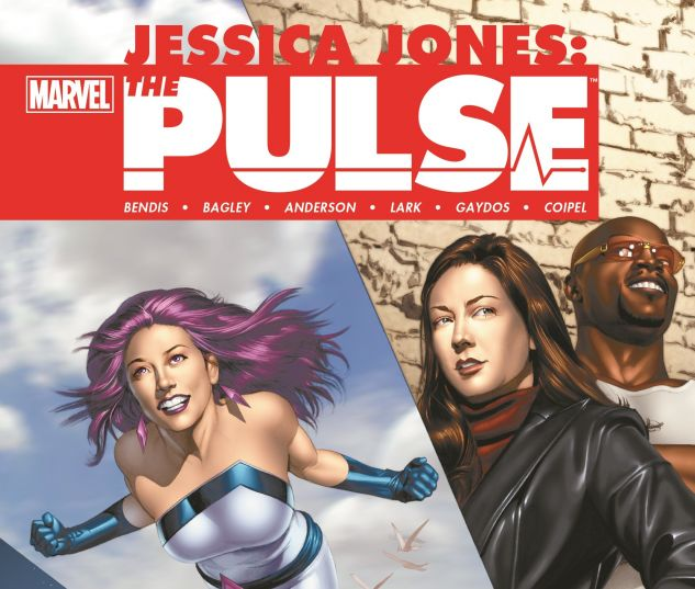 cover from Jessica Jones: The Pulse - The Complete Collection (2014)