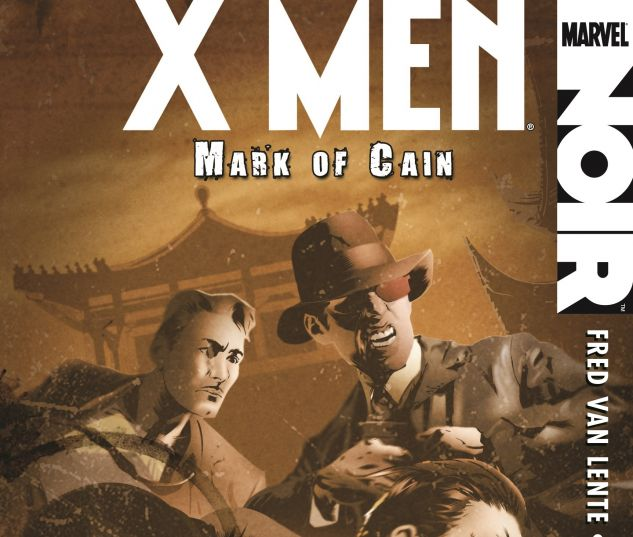 Cover From X-Men Noir: Mark of Cain (Trade Paperback)