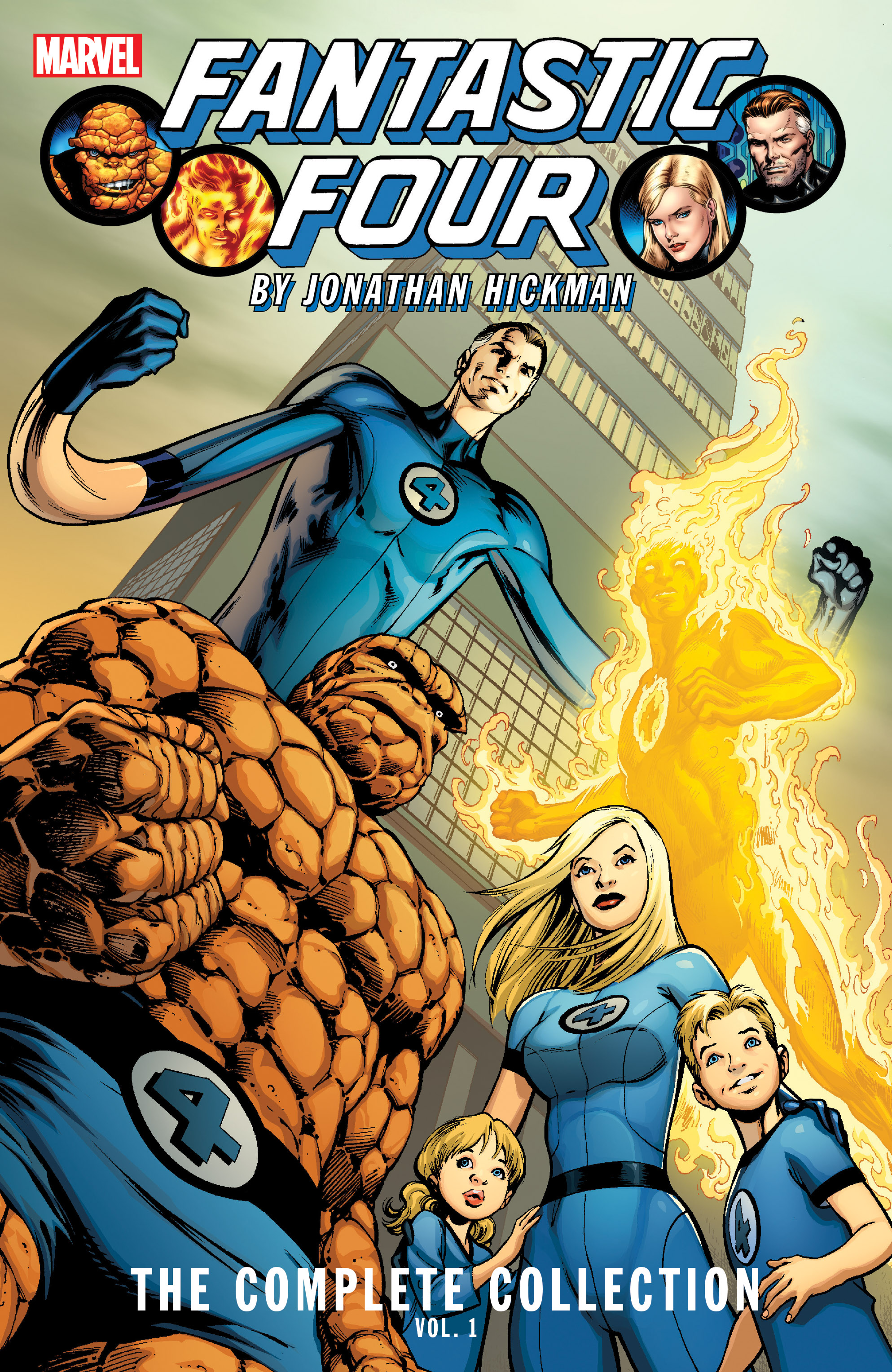 Fantastic Four by Jonathan Hickman: The Complete Collection Vol. 1 (Trade Paperback)