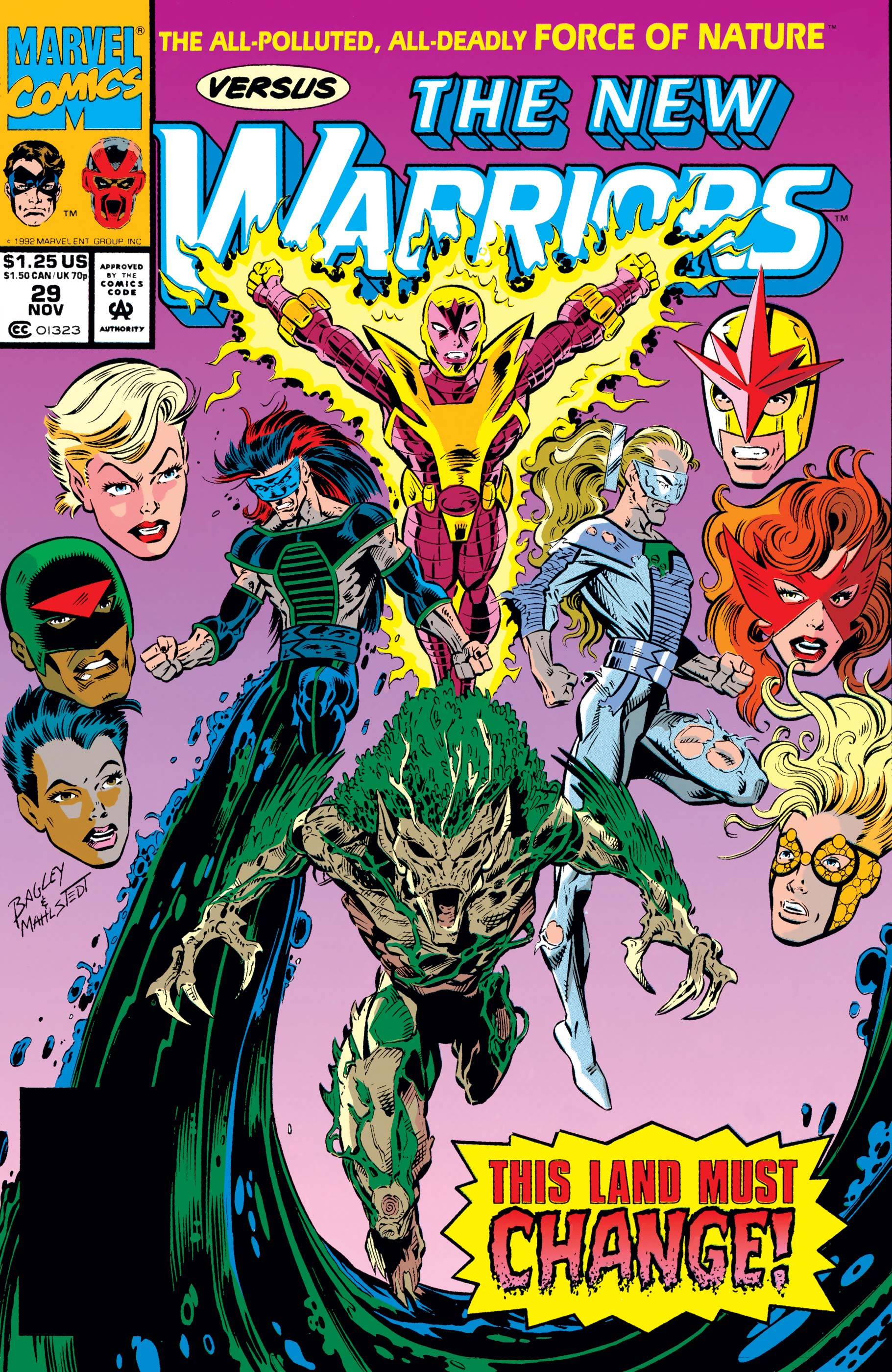 New Warriors (1990) #29