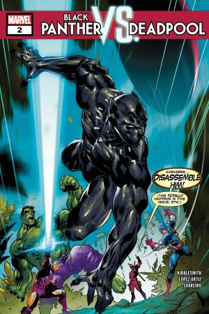 Black Panther Vs. Deadpool #2