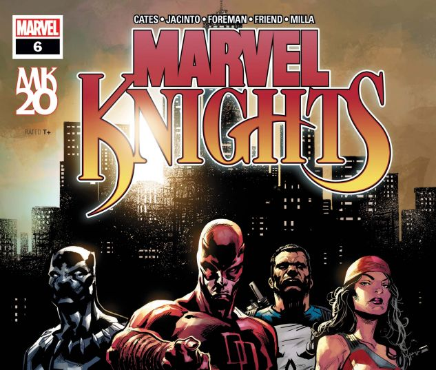cover from Marvel Knights: TBD (2018) #6