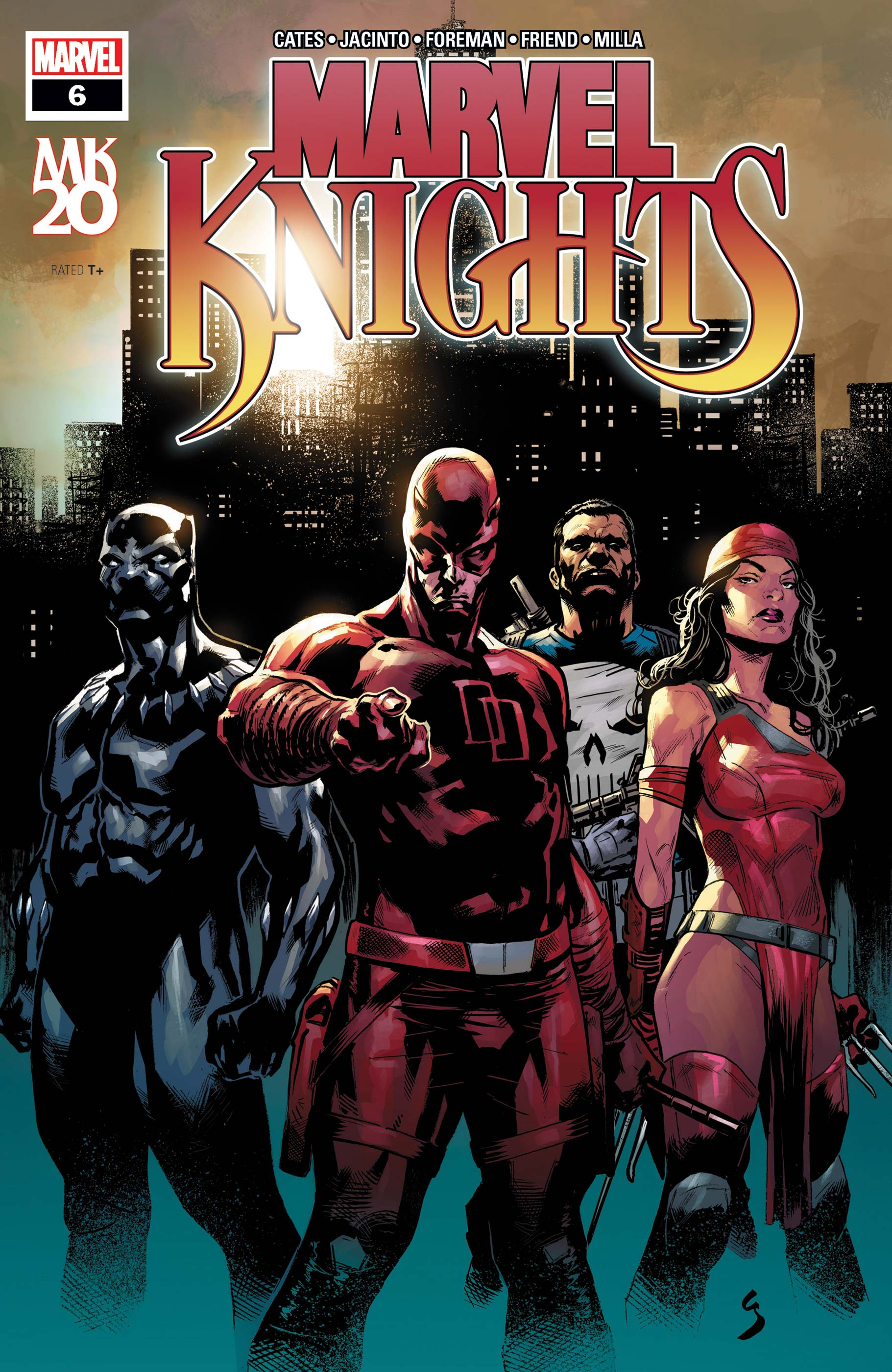 Marvel Knights 20th (2018) #6