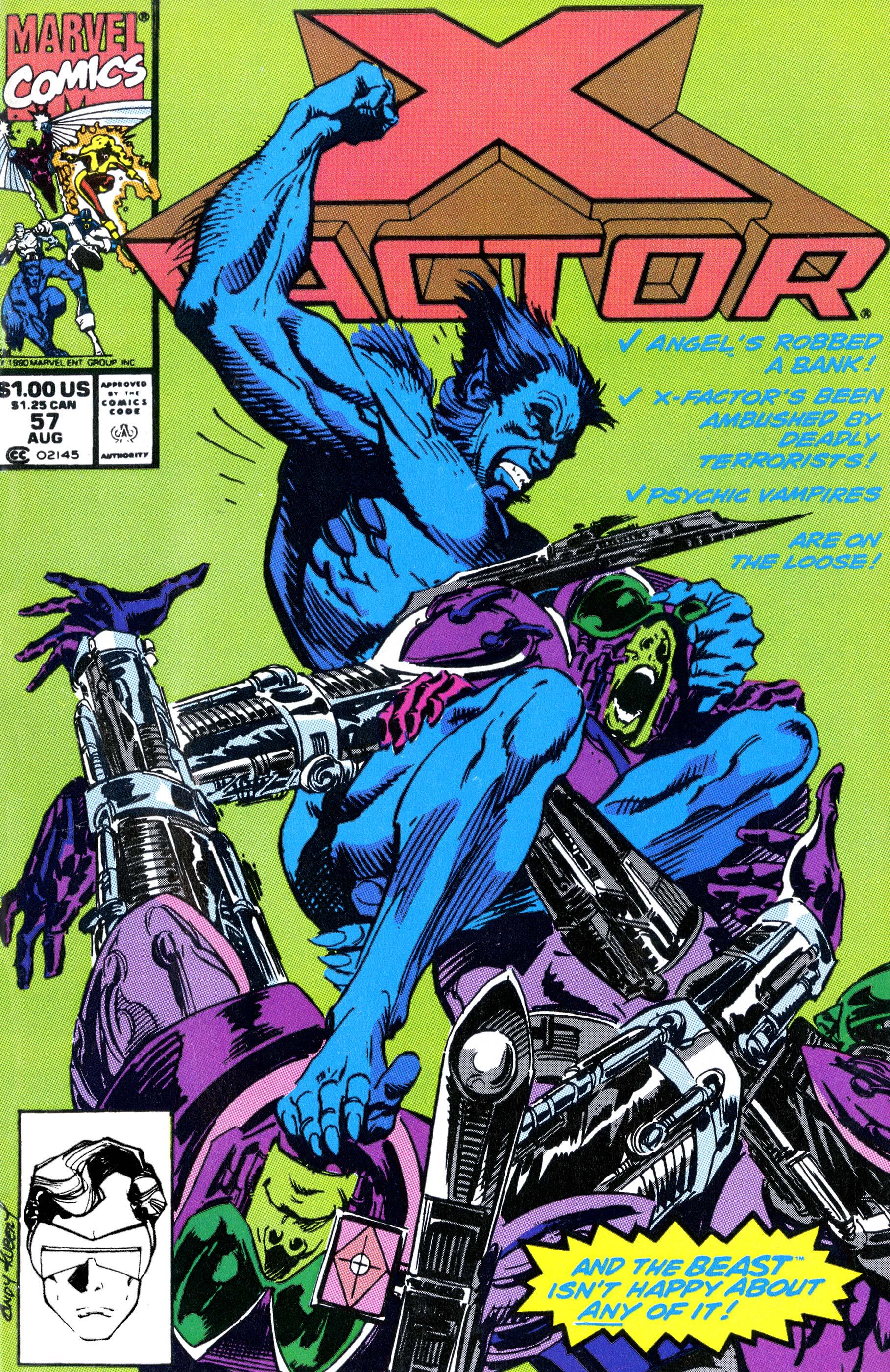 X-Factor (1986) #57