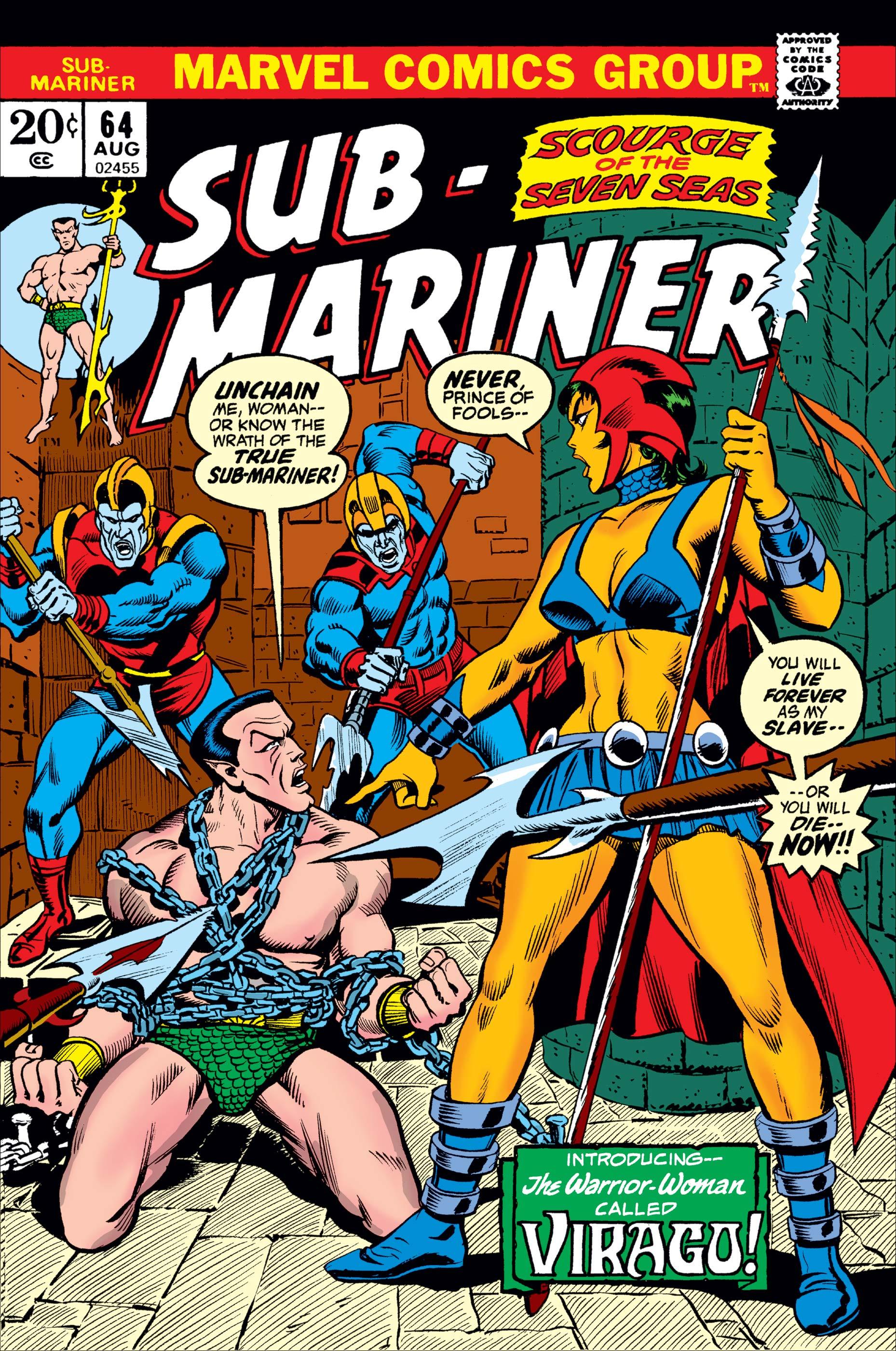 Sub-Mariner (1968) #64