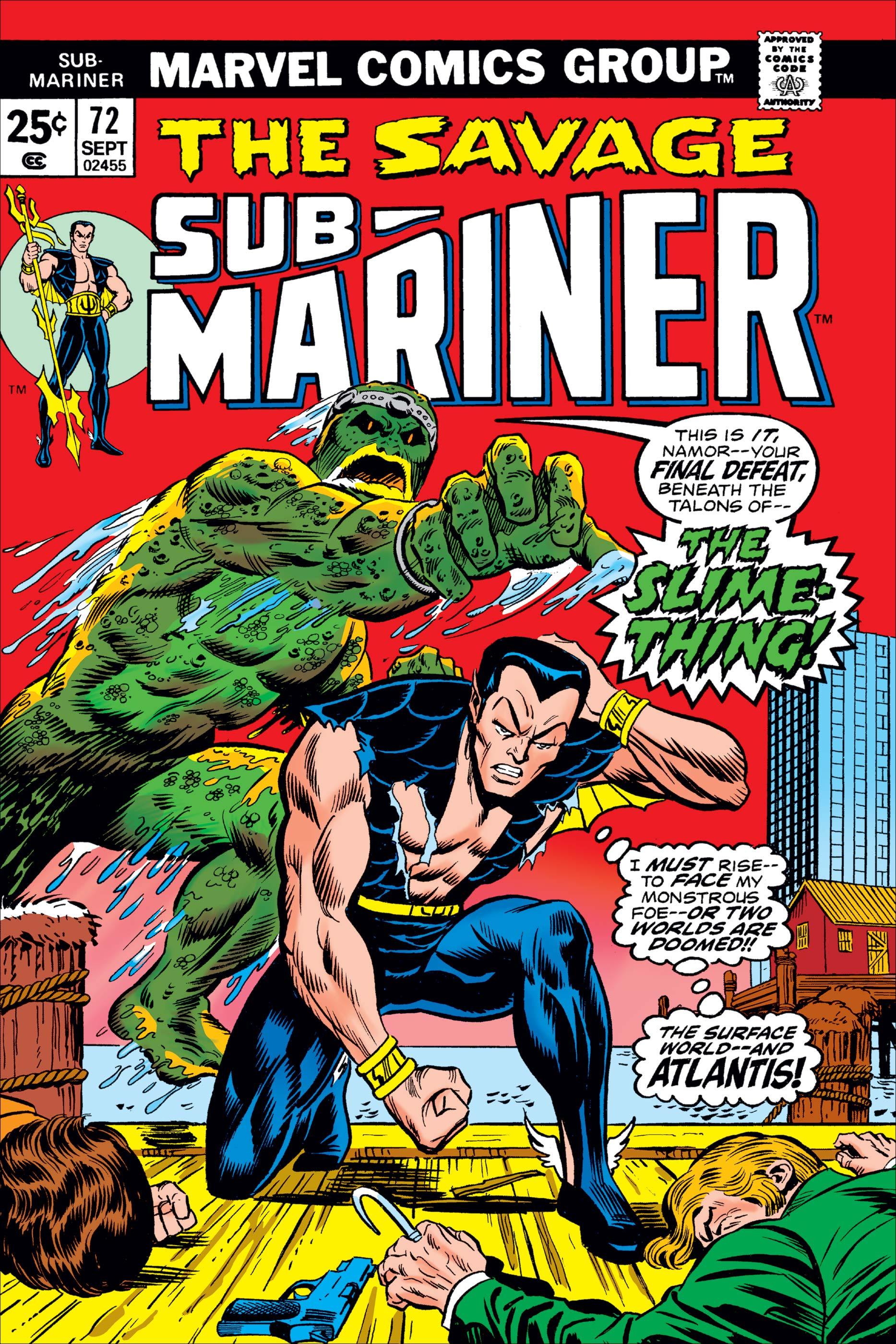Sub-Mariner (1968) #72
