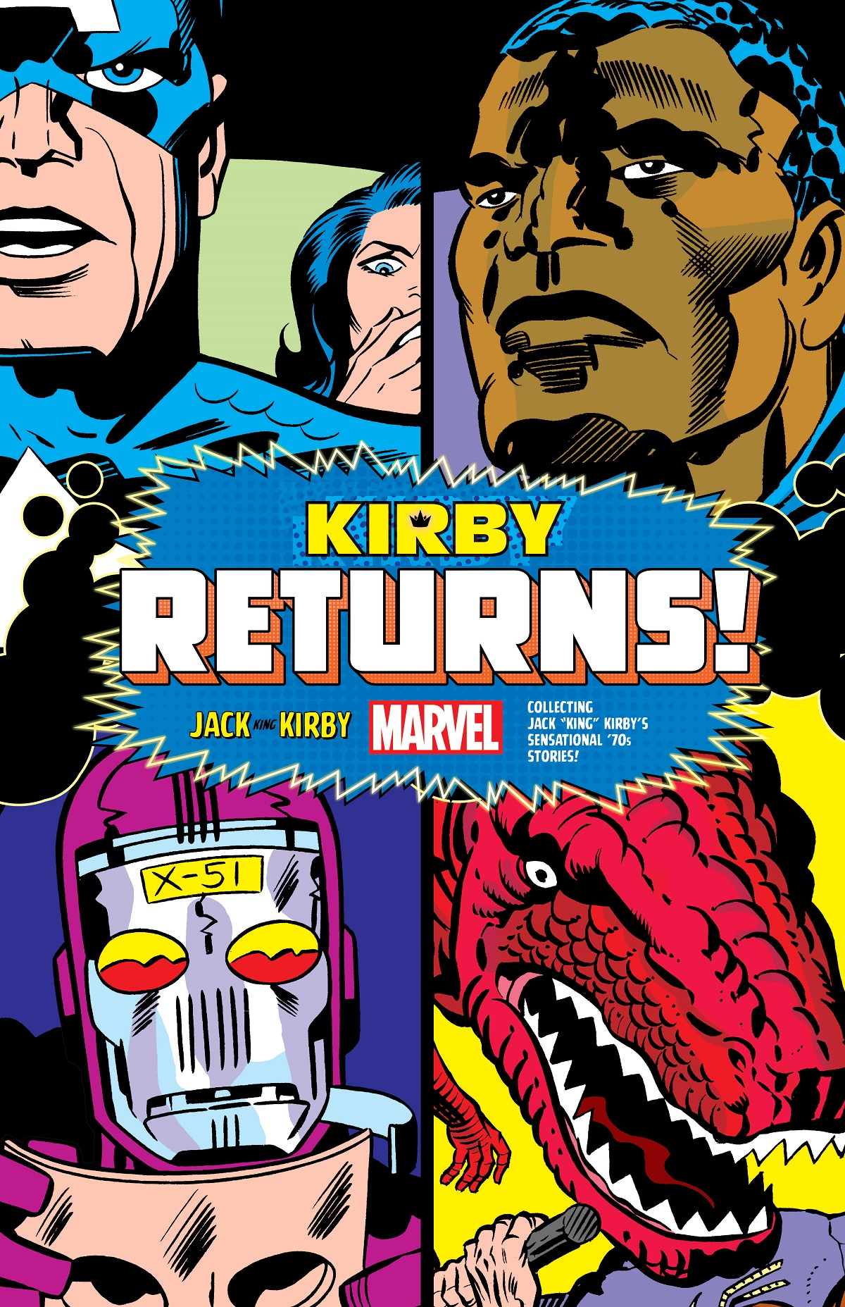 Kirby Returns! King-Size (Hardcover)