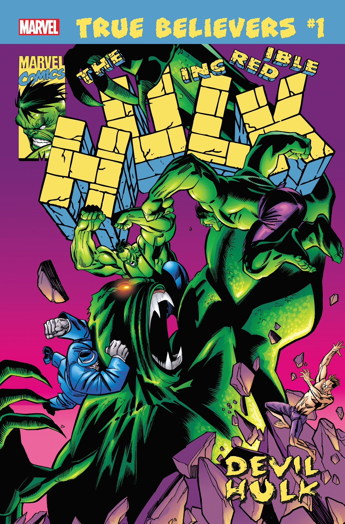 True Believers: Hulk - Devil Hulk (2019) #1