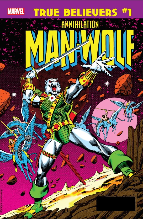 True Believers: Annihilation - Man-Wolf In Space (2019) #1