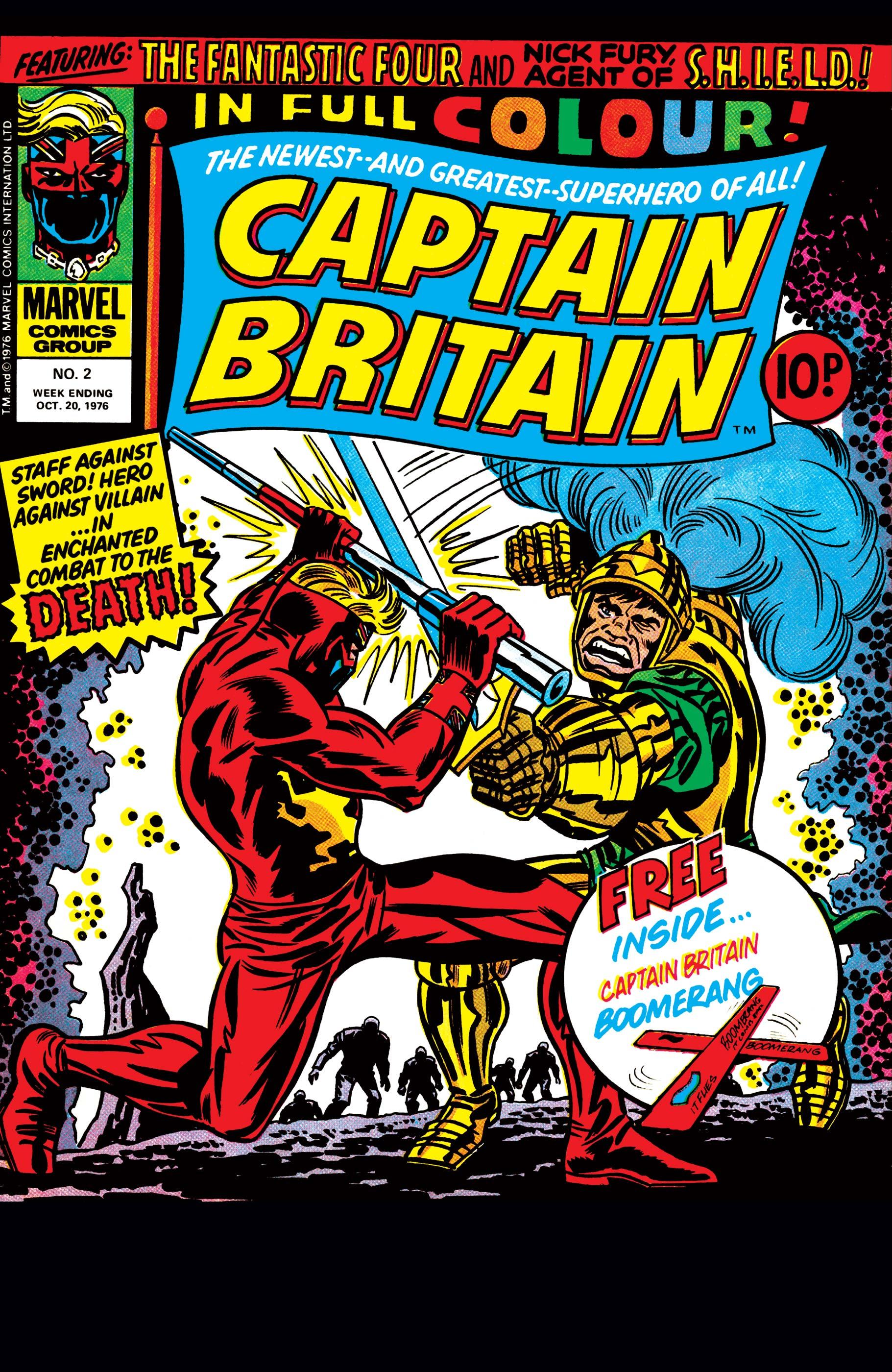 Captain Britain (1976) #2