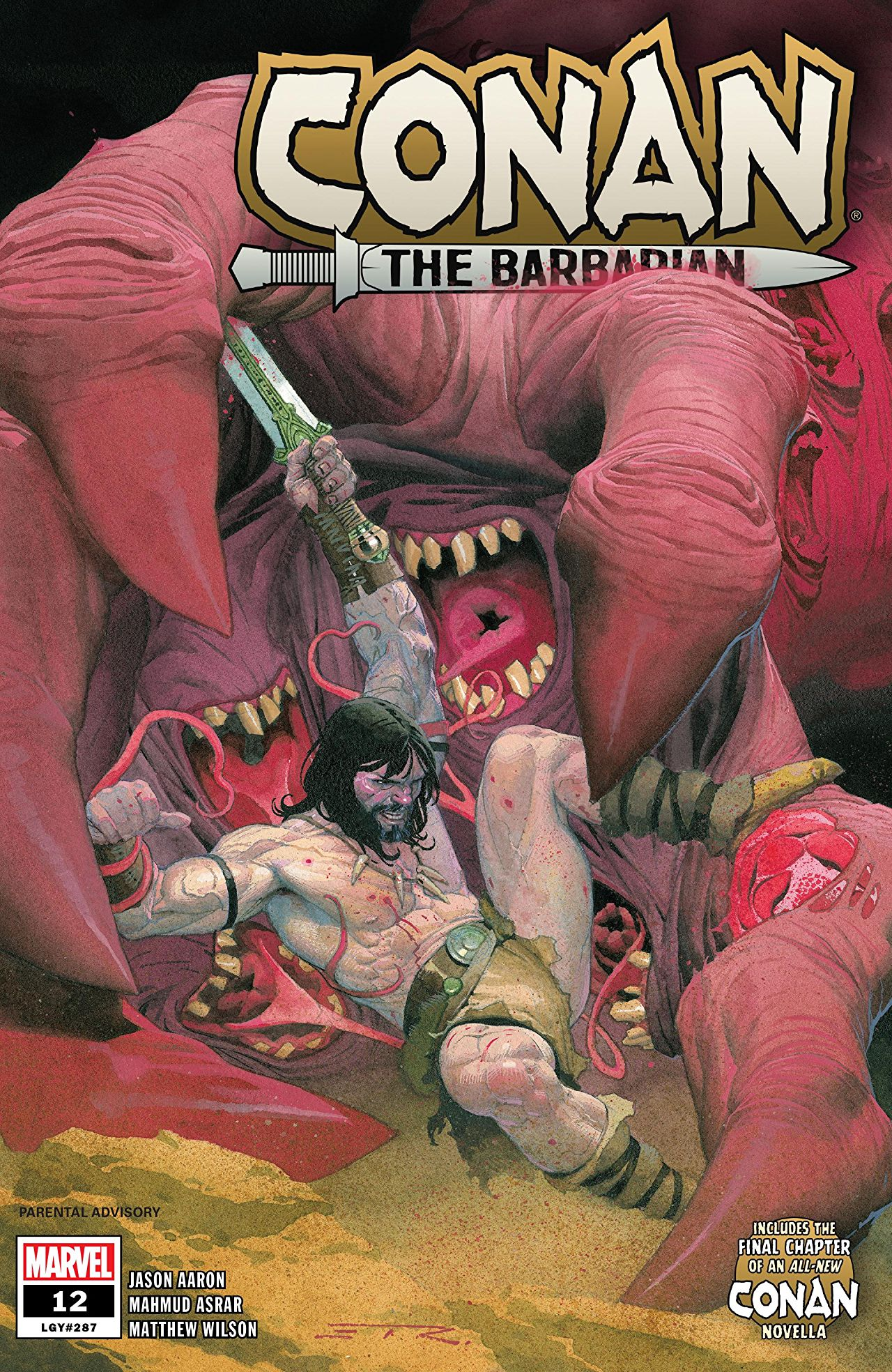 Conan the Barbarian (2019) #12
