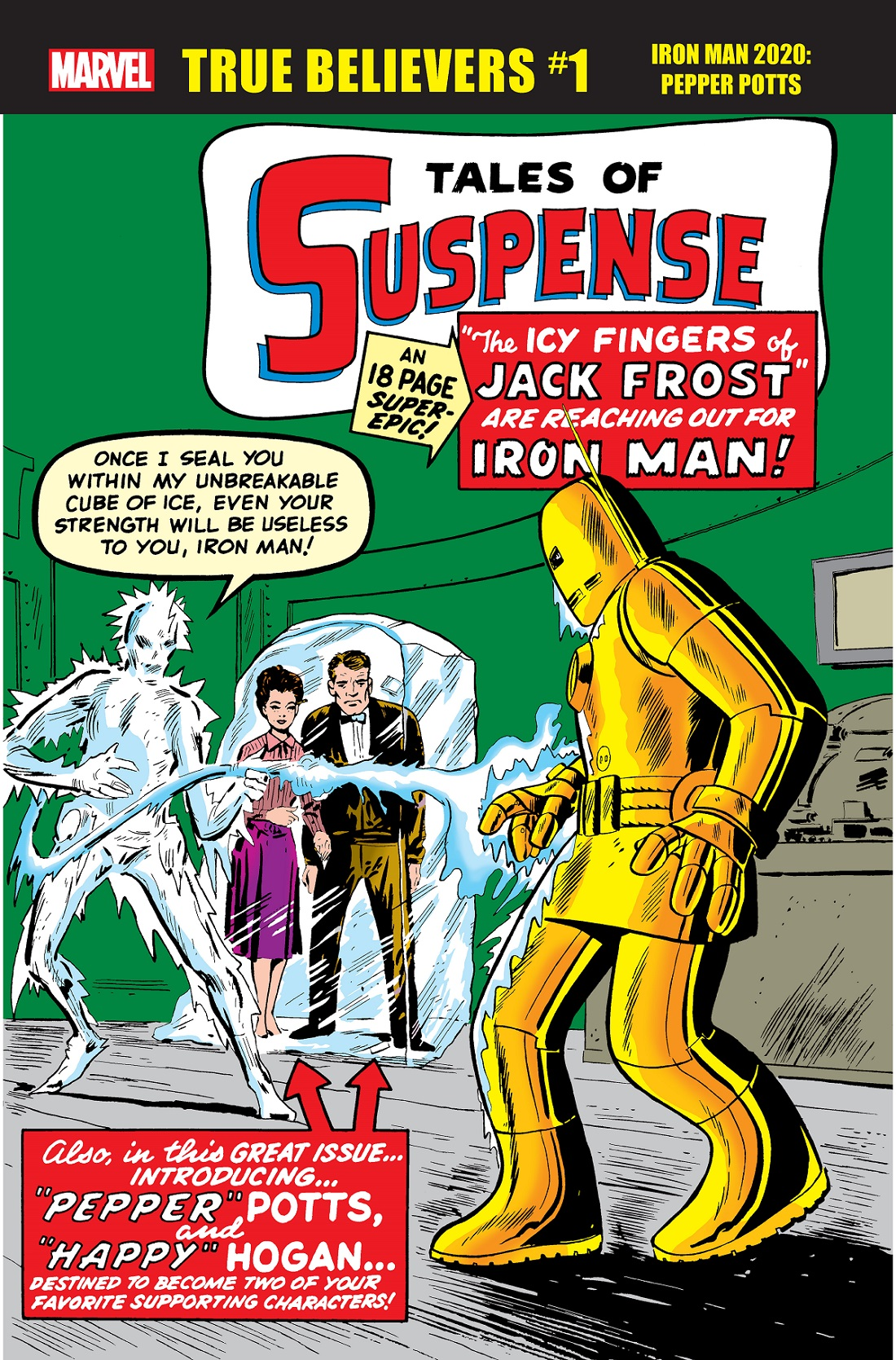 True Believers: Iron Man 2020 - Pepper Potts (2020) #1