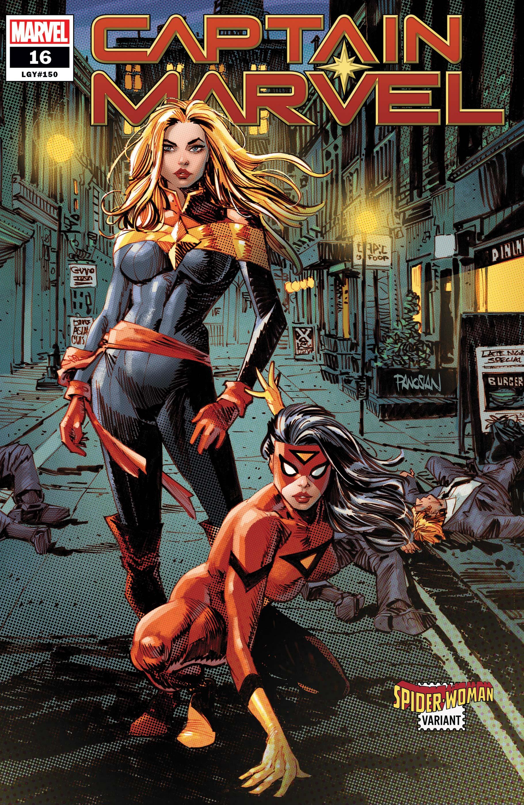 Captain Marvel (2019) #16 (Variant)