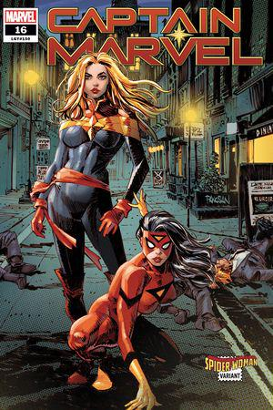 Captain Marvel (2019) #16 (Variant)