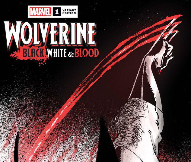 Wolverine: Black, White & Blood #1