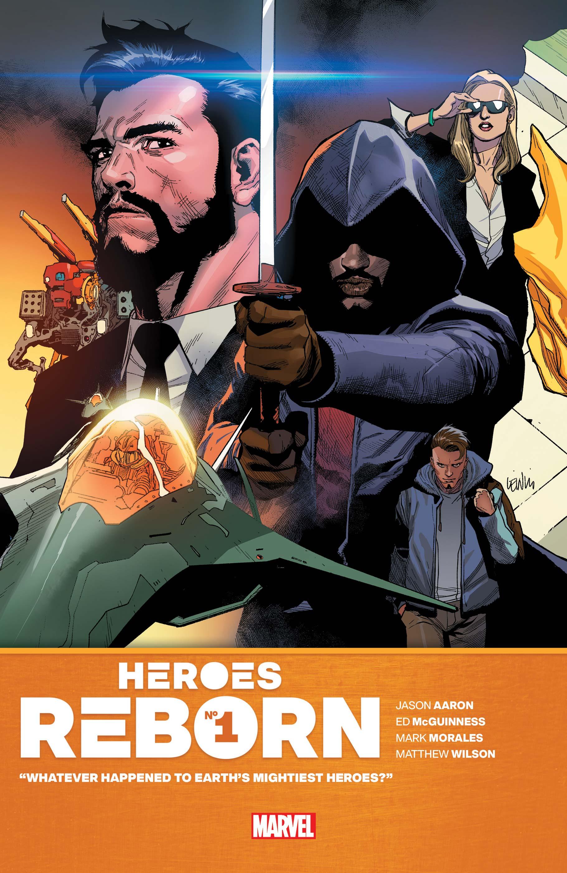 Heroes Reborn (2021) #1
