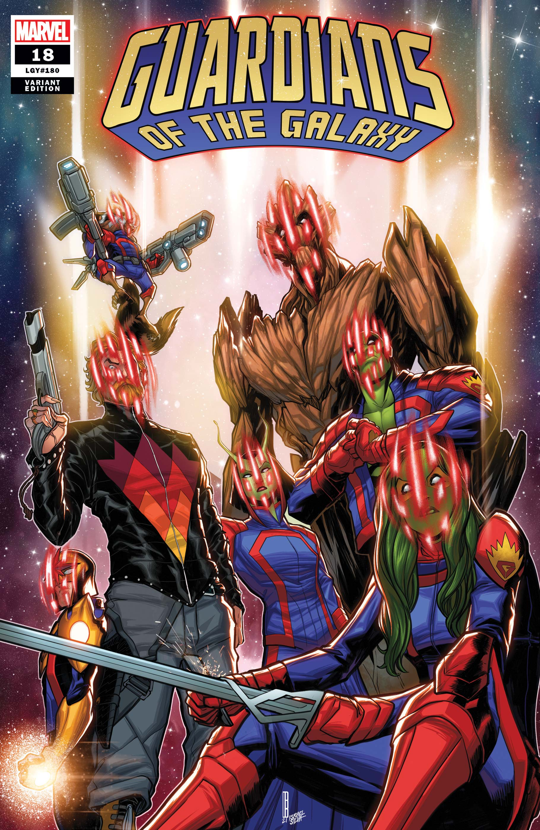 Guardians of the Galaxy (2020) #18 (Variant)
