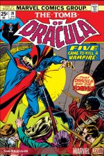Tomb of Dracula (1972) #28 cover