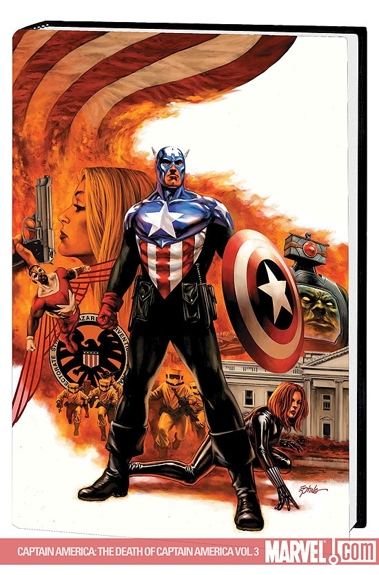 Captain America: The Death of Captain America Vol. 3 - The Man Who Bought America Premiere (Hardcover)
